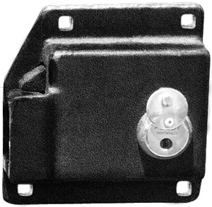 Trailer Lock Box for Whiting Hasp 8055W